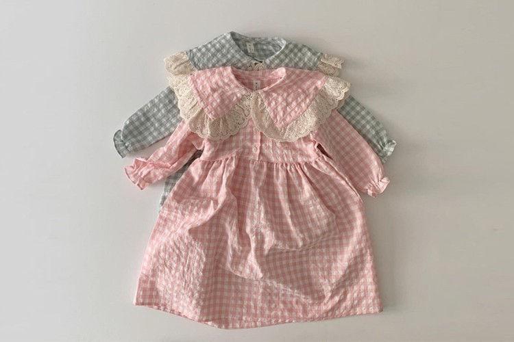 DAILY BEBE - BRAND - Korean Children Fashion - #Kfashion4kids - Lace Dress