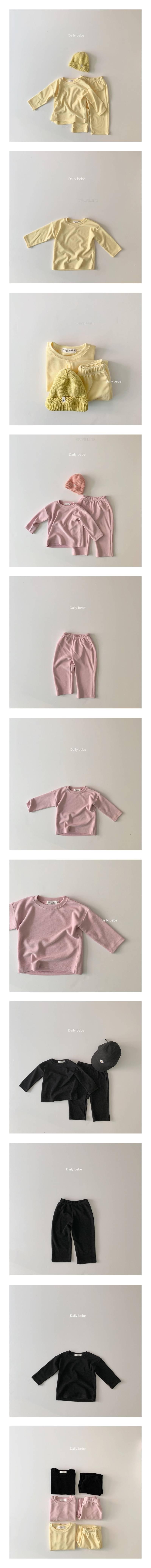 DAILY BEBE - Korean Children Fashion - #Kfashion4kids - World Easy Set
