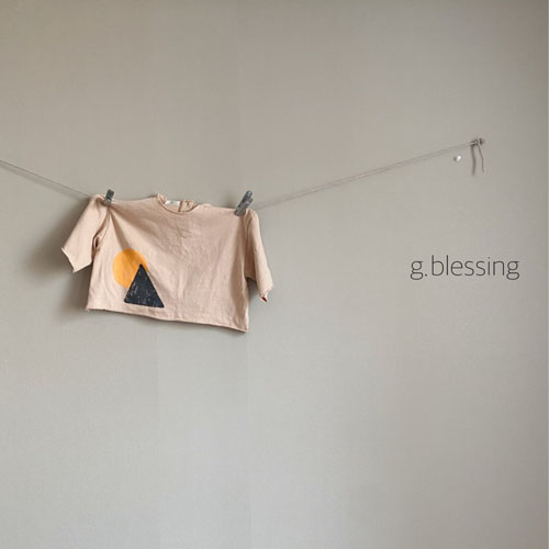 G BLESSING - Korean Children Fashion - #Kfashion4kids - Shape Tee