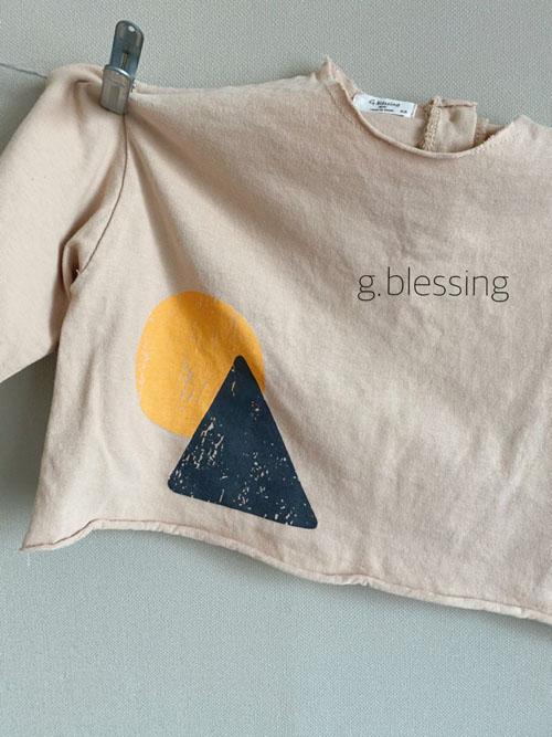 G BLESSING - Korean Children Fashion - #Kfashion4kids - Shape Tee - 3