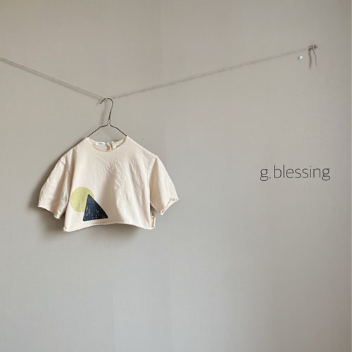 G BLESSING - Korean Children Fashion - #Kfashion4kids - Shape Tee - 4
