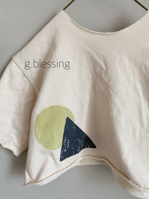 G BLESSING - Korean Children Fashion - #Kfashion4kids - Shape Tee - 5
