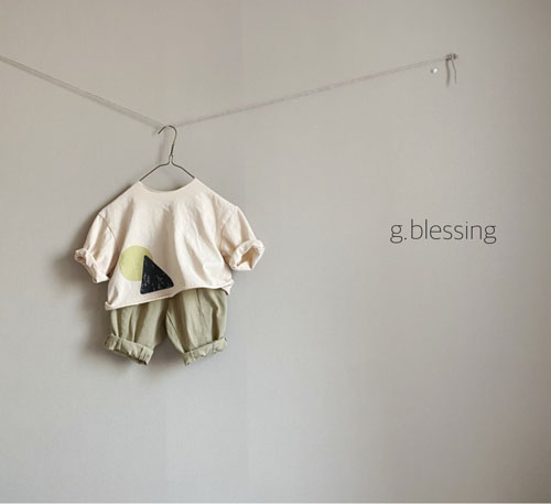 G BLESSING - Korean Children Fashion - #Kfashion4kids - Shape Tee - 7