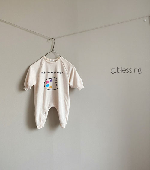 G BLESSING - Korean Children Fashion - #Kfashion4kids - Palette Bodysuit