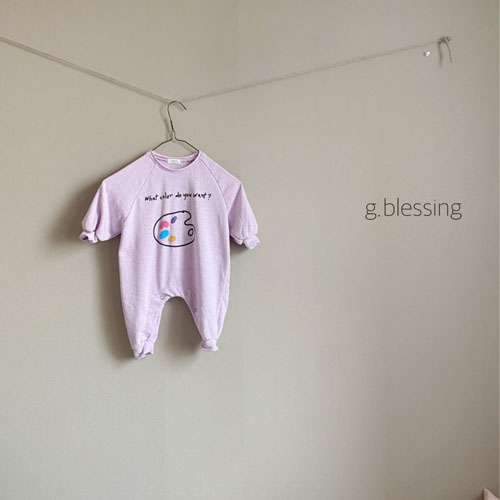 G BLESSING - Korean Children Fashion - #Kfashion4kids - Palette Bodysuit - 5