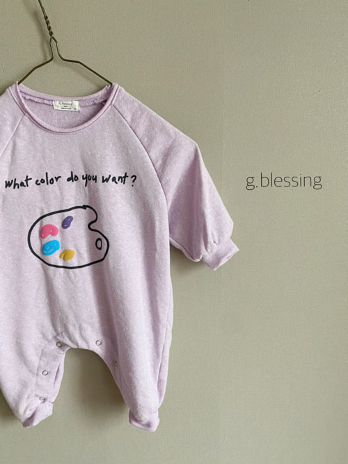 G BLESSING - Korean Children Fashion - #Kfashion4kids - Palette Bodysuit - 6