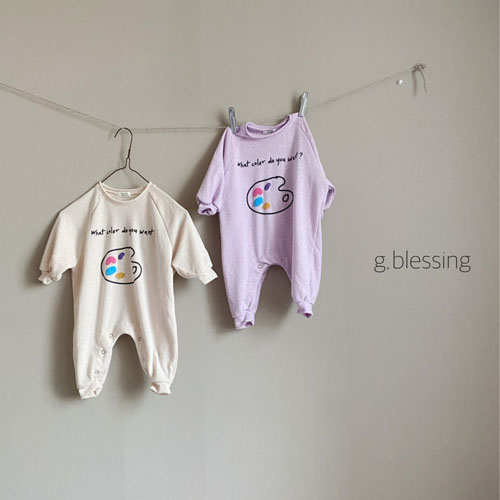 G BLESSING - Korean Children Fashion - #Kfashion4kids - Palette Bodysuit - 7