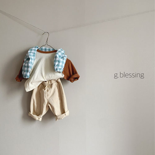 G BLESSING - Korean Children Fashion - #Kfashion4kids - Check Anorak - 3