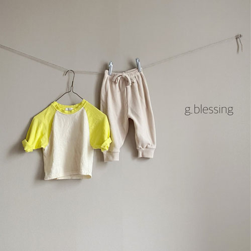 G BLESSING - Korean Children Fashion - #Kfashion4kids - Waffle Jogger Pants - 5