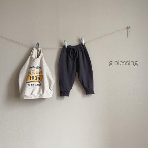 G BLESSING - Korean Children Fashion - #Kfashion4kids - Waffle Jogger Pants - 6