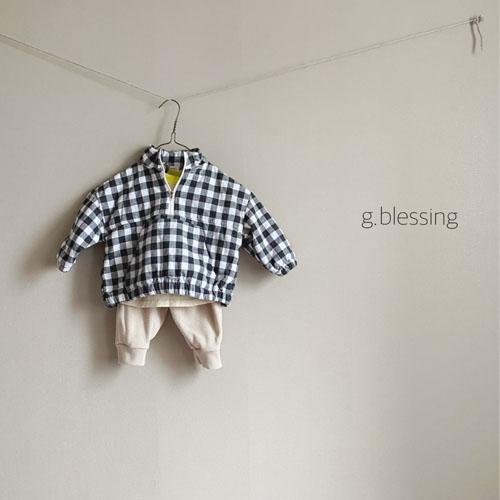 G BLESSING - Korean Children Fashion - #Kfashion4kids - Waffle Jogger Pants - 7
