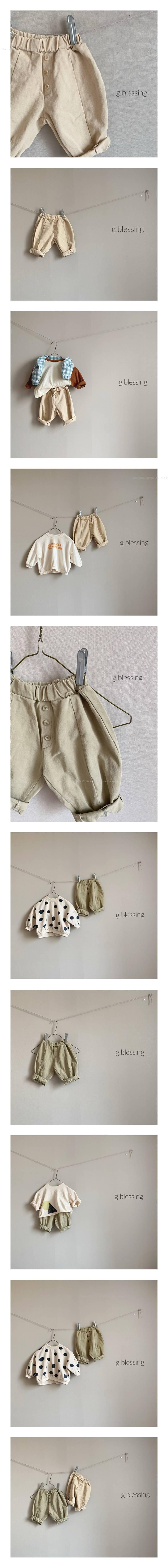 G BLESSING - Korean Children Fashion - #Kfashion4kids - Batik Slacks