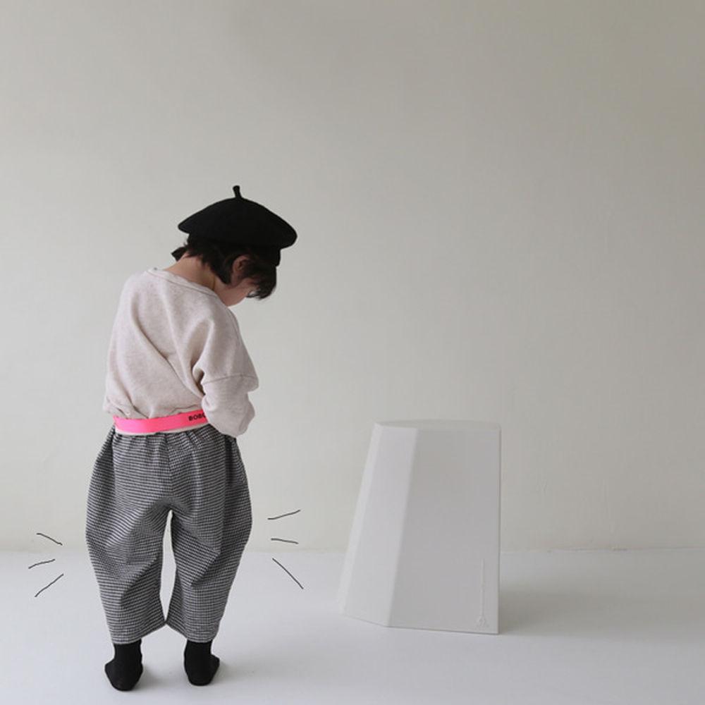 GUNO - BRAND - Korean Children Fashion - #Kfashion4kids - Small Check Pants