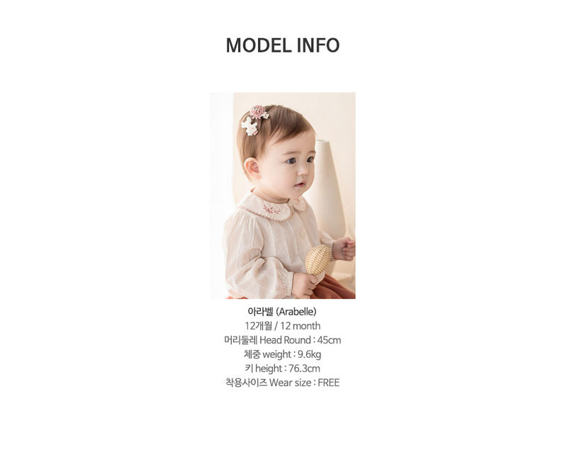 HAPPY PRINCE - Korean Children Fashion - #Kfashion4kids - Michel Mini Baby Hairpin Set - 10