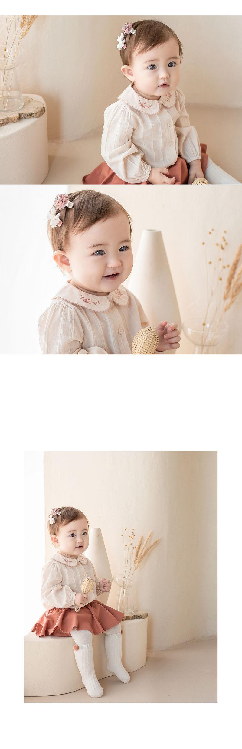HAPPY PRINCE - Korean Children Fashion - #Kfashion4kids - Michel Mini Baby Hairpin Set - 2