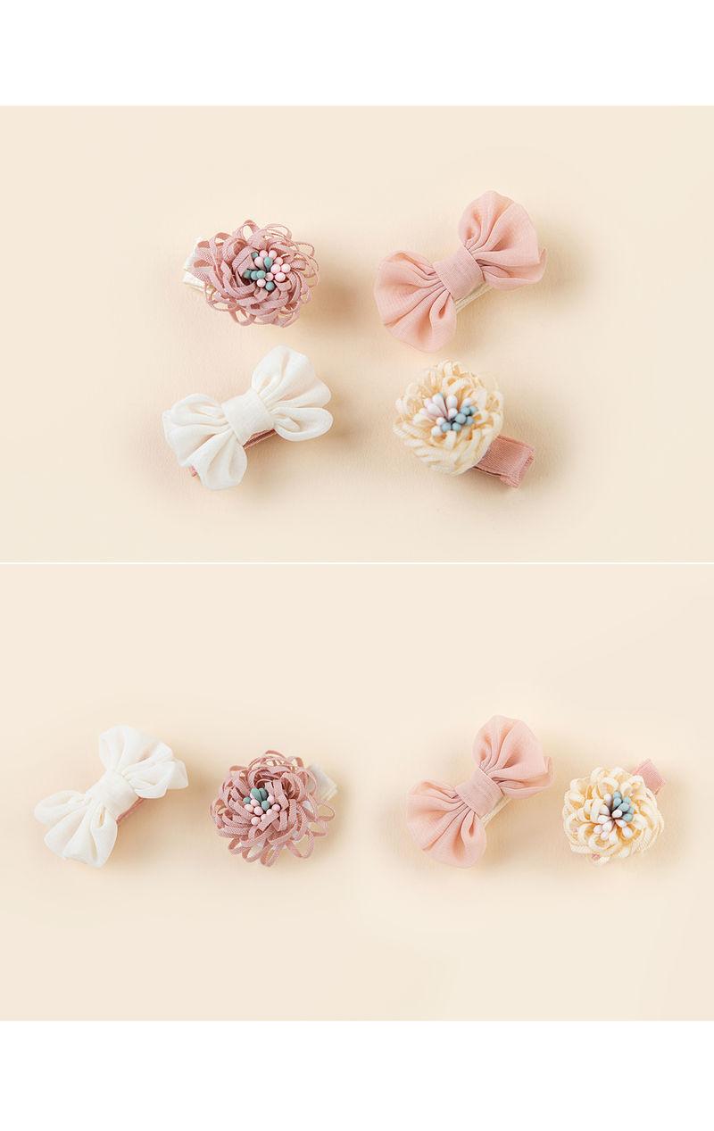 HAPPY PRINCE - Korean Children Fashion - #Kfashion4kids - Michel Mini Baby Hairpin Set - 4