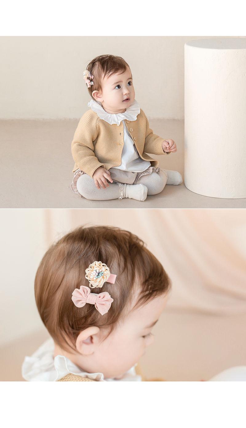 HAPPY PRINCE - Korean Children Fashion - #Kfashion4kids - Michel Mini Baby Hairpin Set - 5