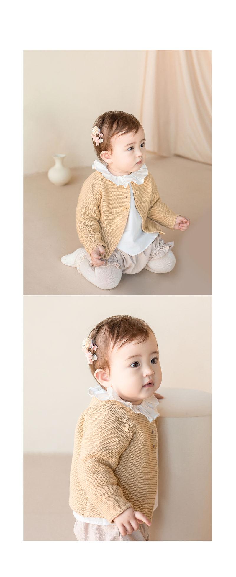 HAPPY PRINCE - Korean Children Fashion - #Kfashion4kids - Michel Mini Baby Hairpin Set - 6