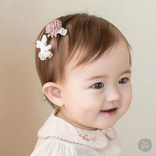 HAPPY PRINCE - BRAND - Korean Children Fashion - #Kfashion4kids - Michel Mini Baby Hairpin Set