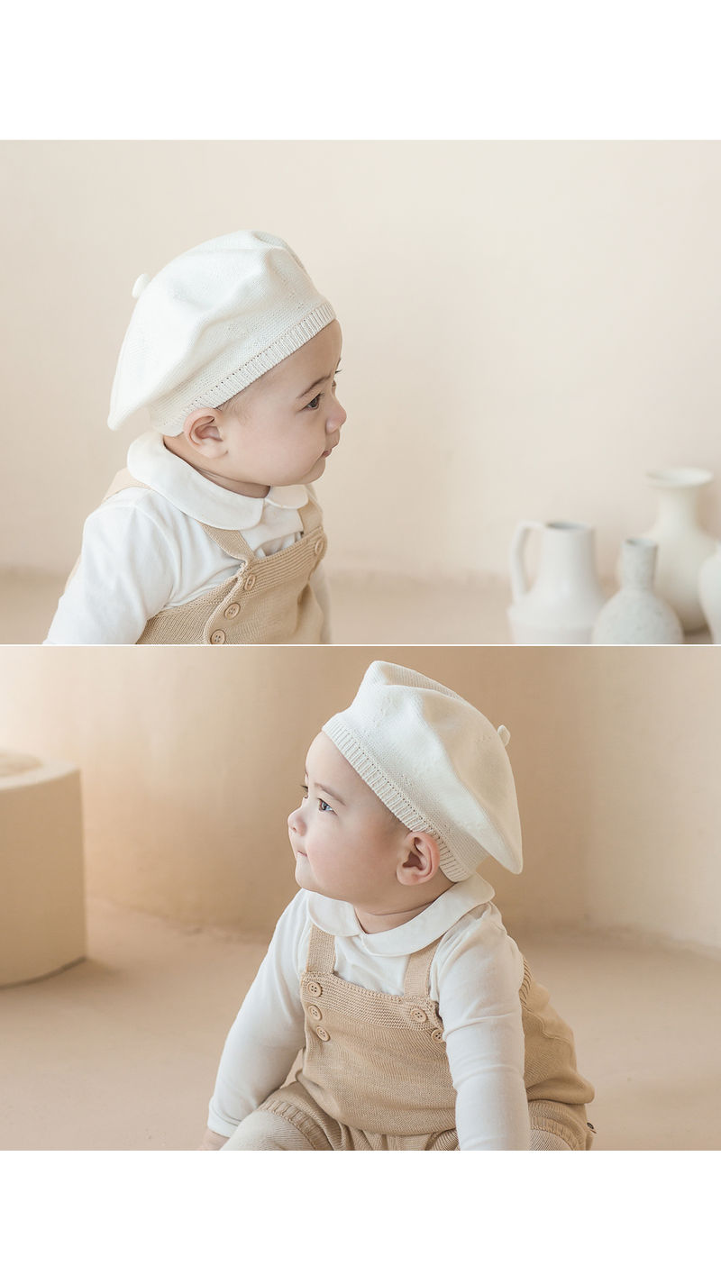 HAPPY PRINCE - Korean Children Fashion - #Kfashion4kids - Shushu Bebe Beret - 6