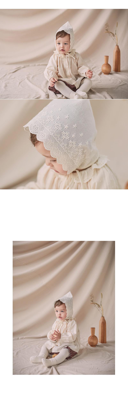 HAPPY PRINCE - Korean Children Fashion - #Kfashion4kids - Jane Lace Bonnet - 2