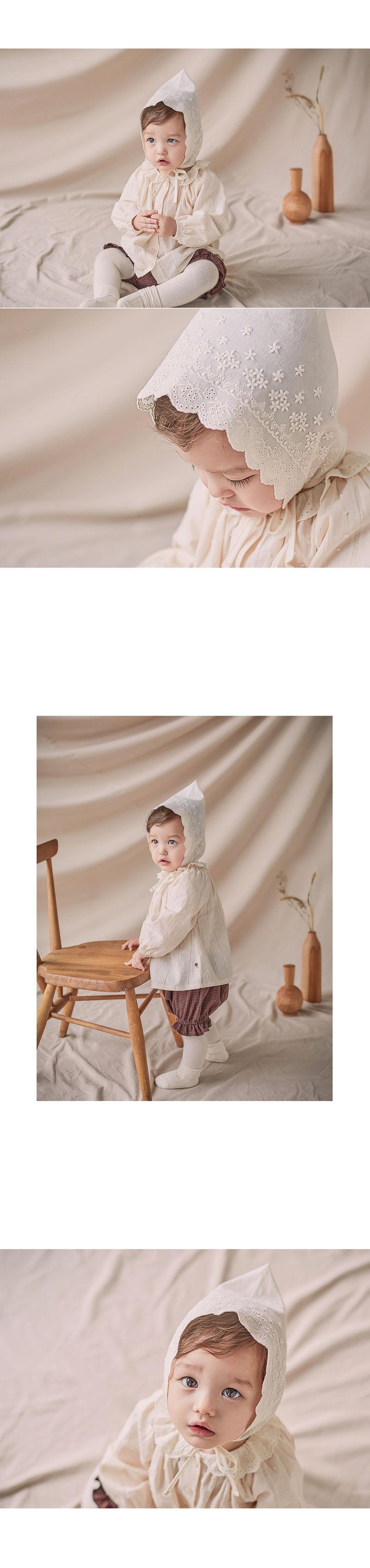 HAPPY PRINCE - Korean Children Fashion - #Kfashion4kids - Jane Lace Bonnet - 4