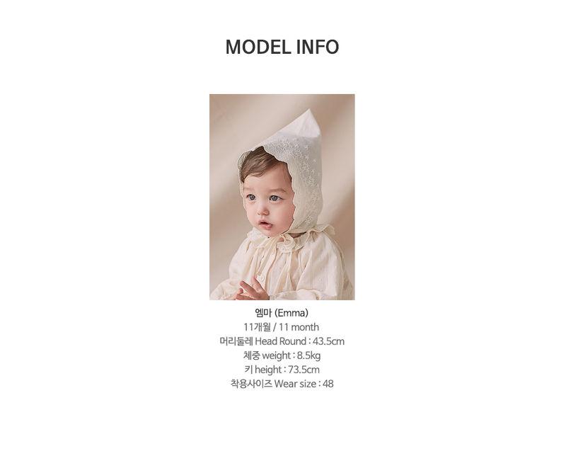 HAPPY PRINCE - Korean Children Fashion - #Kfashion4kids - Jane Lace Bonnet - 8