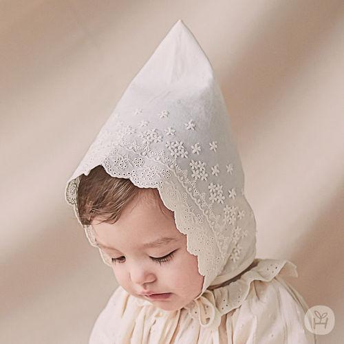 HAPPY PRINCE - BRAND - Korean Children Fashion - #Kfashion4kids - Jane Lace Bonnet