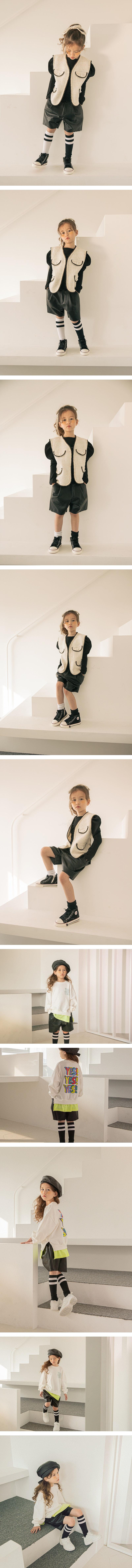 LILAS - Korean Children Fashion - #Kfashion4kids - Chic Bermuda Pants