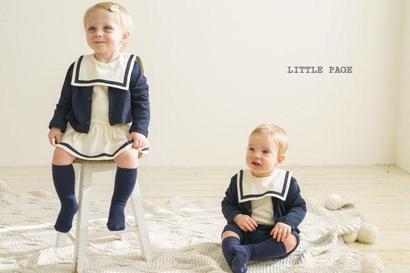 LITTLE PAGE - BRAND - Korean Children Fashion - #Kfashion4kids - Basic Baby Cardigan