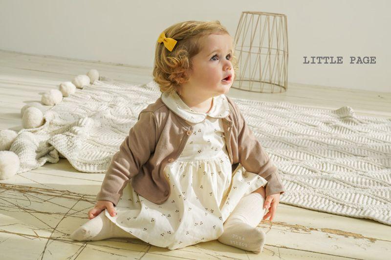 LITTLE PAGE - BRAND - Korean Children Fashion - #Kfashion4kids - Collar Baby One-piece