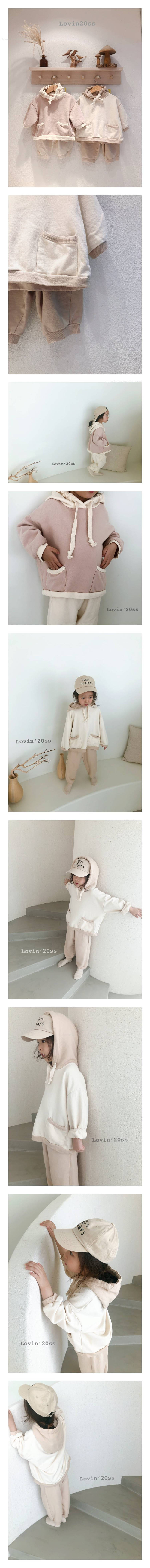 LOVIN - Korean Children Fashion - #Kfashion4kids - Candy Top Bottom Set