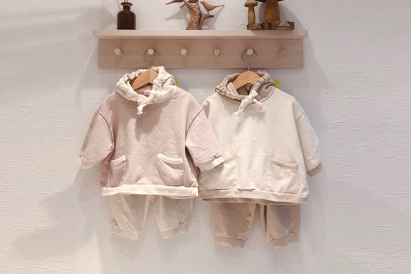 LOVIN - BRAND - Korean Children Fashion - #Kfashion4kids - Candy Top Bottom Set
