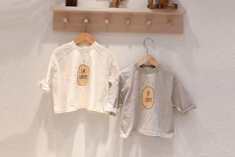 LOVIN - BRAND - Korean Children Fashion - #Kfashion4kids - Sun Tee