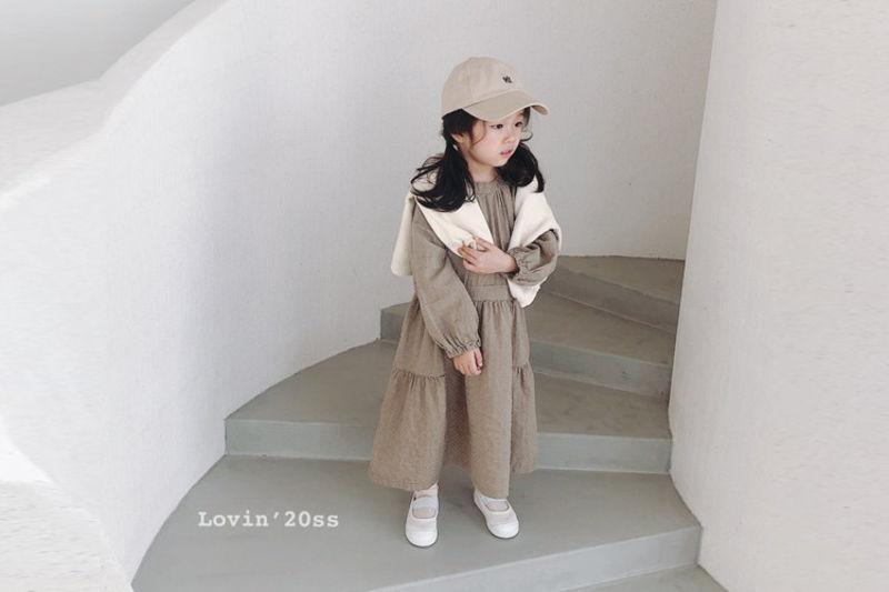 LOVIN - BRAND - Korean Children Fashion - #Kfashion4kids - Hazel One-piece