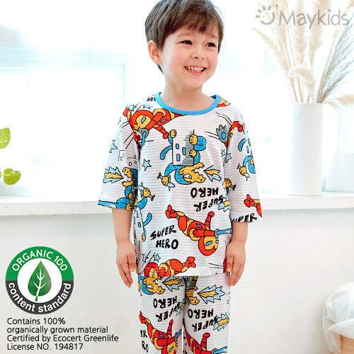 MAYKIDS - BRAND - Korean Children Fashion - #Kfashion4kids - Robot Hero Playwear