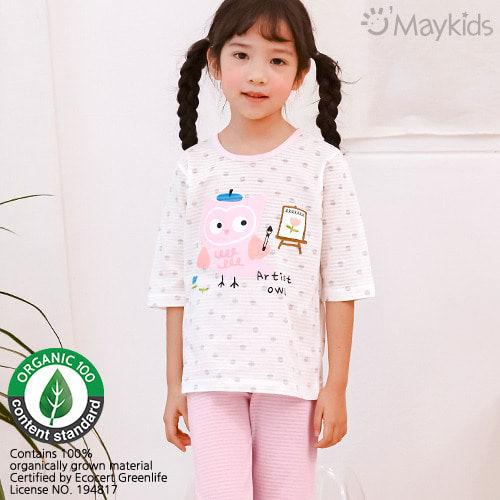 MAYKIDS - BRAND - Korean Children Fashion - #Kfashion4kids - Artist Owl Playwear