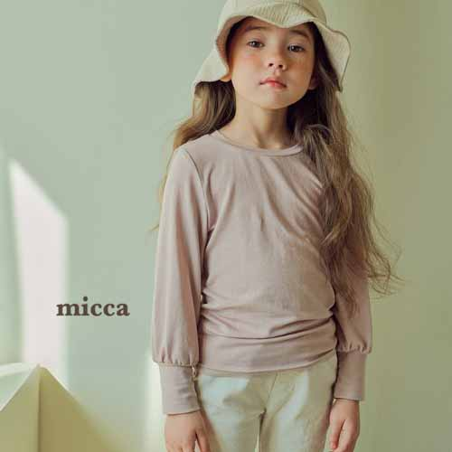 MICCA - BRAND - Korean Children Fashion - #Kfashion4kids - Maru Basic Tee