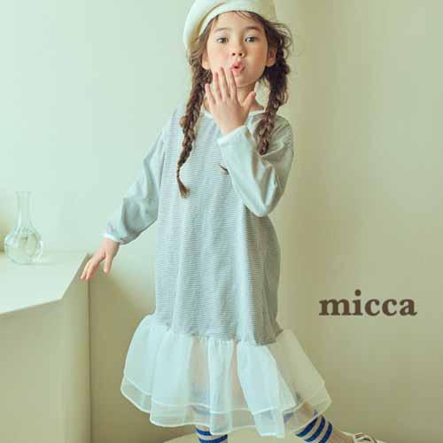 MICCA - BRAND - Korean Children Fashion - #Kfashion4kids - Milky One-piece