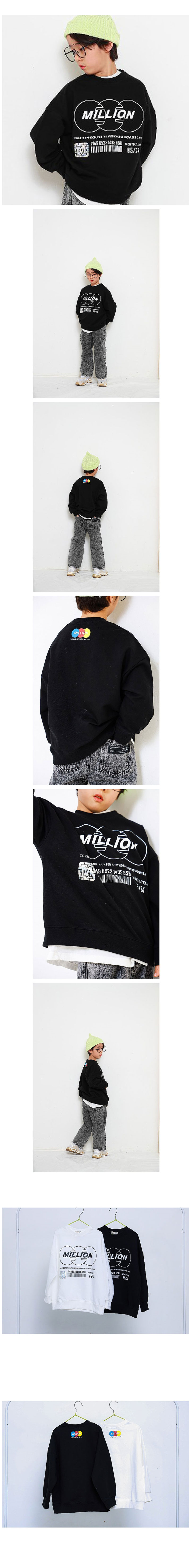 MINI CABINET - Korean Children Fashion - #Kfashion4kids - Million Tee - 2