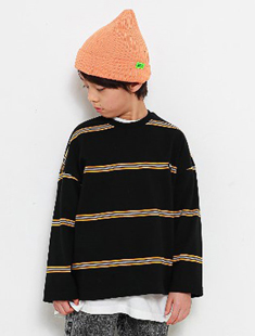 MINI CABINET - BRAND - Korean Children Fashion - #Kfashion4kids - Line Tee