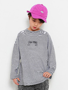 MINI CABINET - BRAND - Korean Children Fashion - #Kfashion4kids - Thin Line Tee