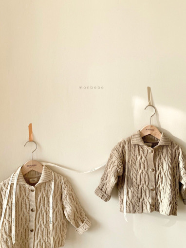 MONBEBE - BRAND - Korean Children Fashion - #Kfashion4kids - Momo Cardigan