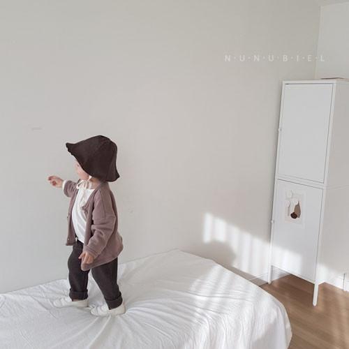 NUNUBIEL - Korean Children Fashion - #Kfashion4kids - Waffle Roll-up Pants