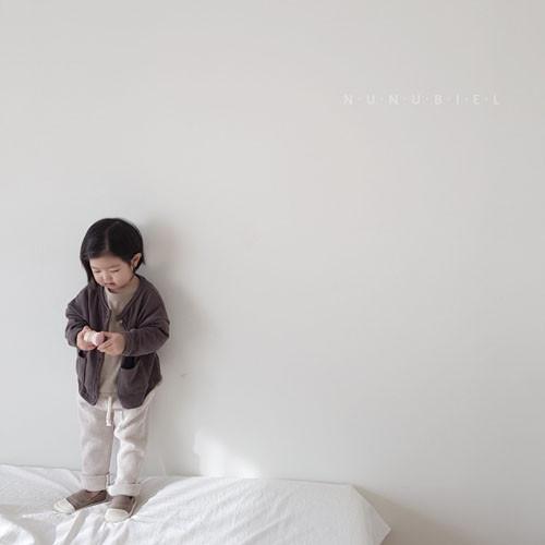 NUNUBIEL - Korean Children Fashion - #Kfashion4kids - Waffle Roll-up Pants - 2