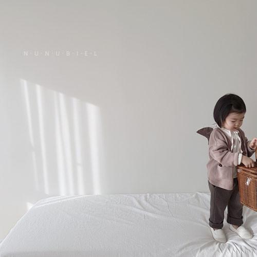 NUNUBIEL - Korean Children Fashion - #Kfashion4kids - Waffle Roll-up Pants - 6