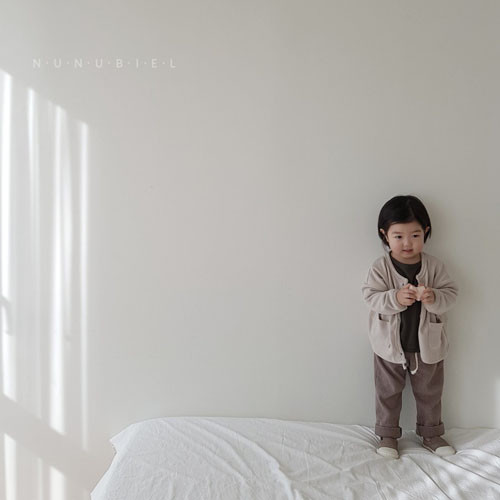 NUNUBIEL - Korean Children Fashion - #Kfashion4kids - Waffle Roll-up Pants - 7