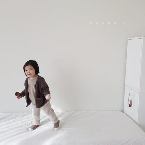 NUNUBIEL - Korean Children Fashion - #Kfashion4kids - Waffle Roll-up Pants - 8