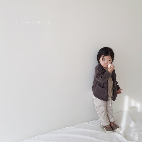 NUNUBIEL - Korean Children Fashion - #Kfashion4kids - Waffle Roll-up Pants - 9