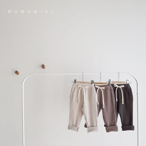 NUNUBIEL - BRAND - Korean Children Fashion - #Kfashion4kids - Waffle Roll-up Pants